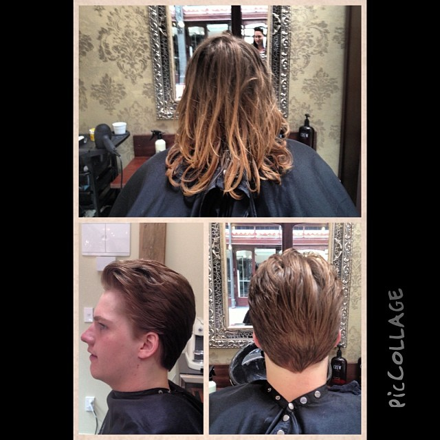 Check out this before and after! Loving this new look!