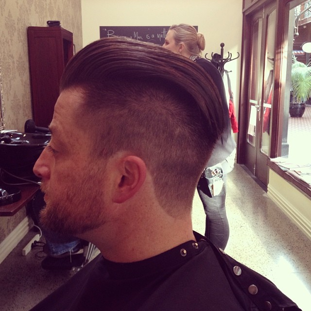 An awesome swept under cut.
